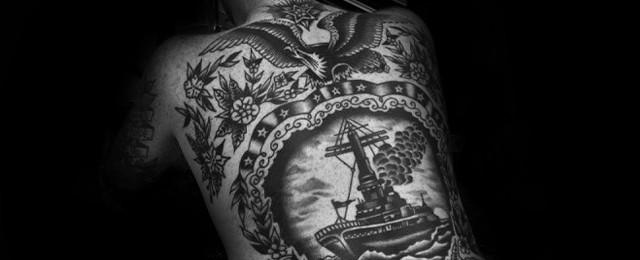 60 Vintage Tattoos For Men Old School Design Ideas