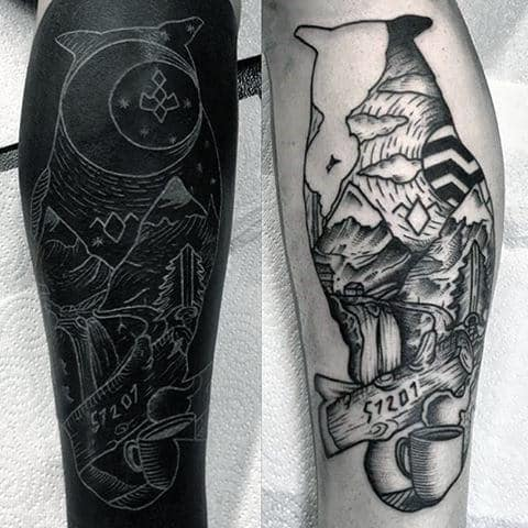 40 Twin Peaks Tattoo Designs For Men - TV Ink Ideas