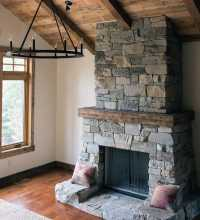 Top 70 Best Stone Fireplace Design Ideas - Rustic Rock ...