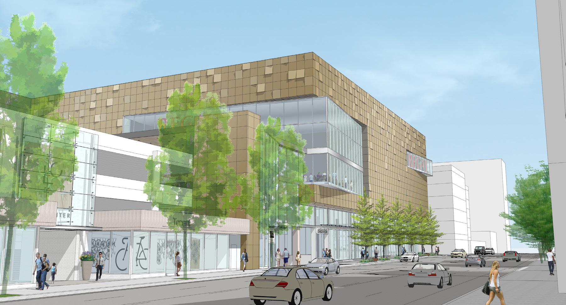 Design Regal Design Commission Approves New Lloyd Center Regal Theater Images