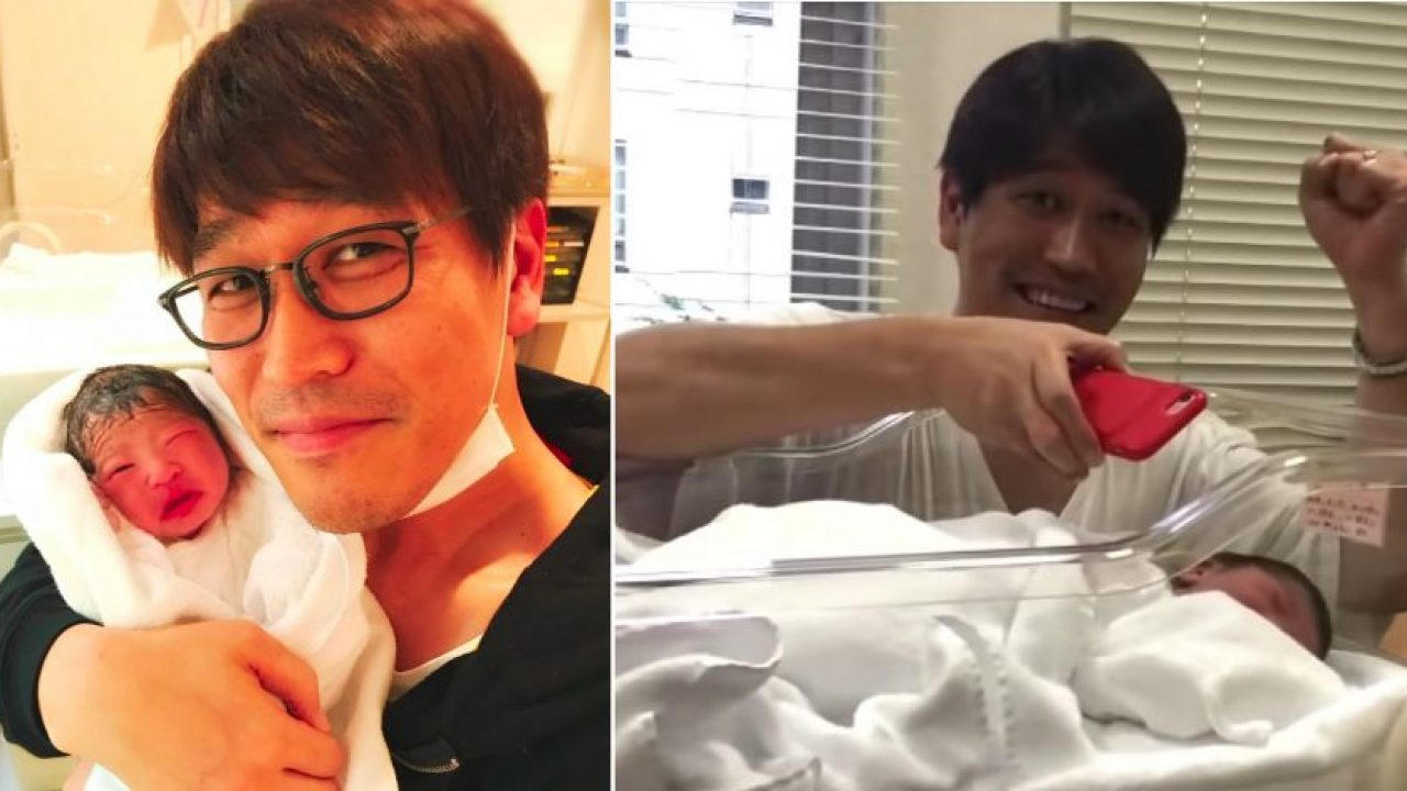 Baby Pineapple Pen Pikotaro Instantly Calms Crying Newborn Daughter By Playing