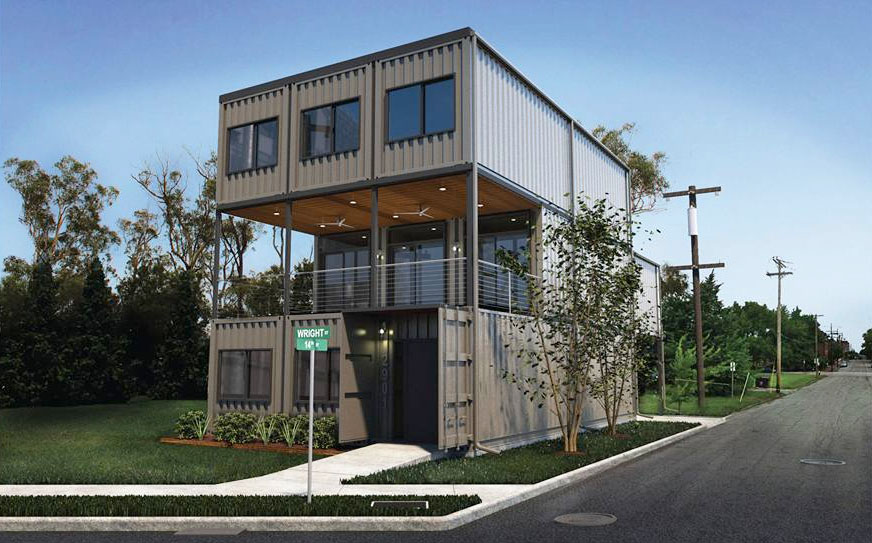 3d Wallpaper House Malaysia St Louis City S First Shipping Container Home Planned In