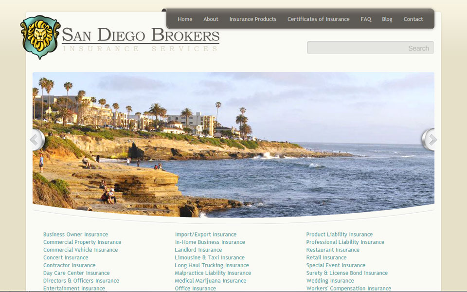 San Diego Brokers Insurance