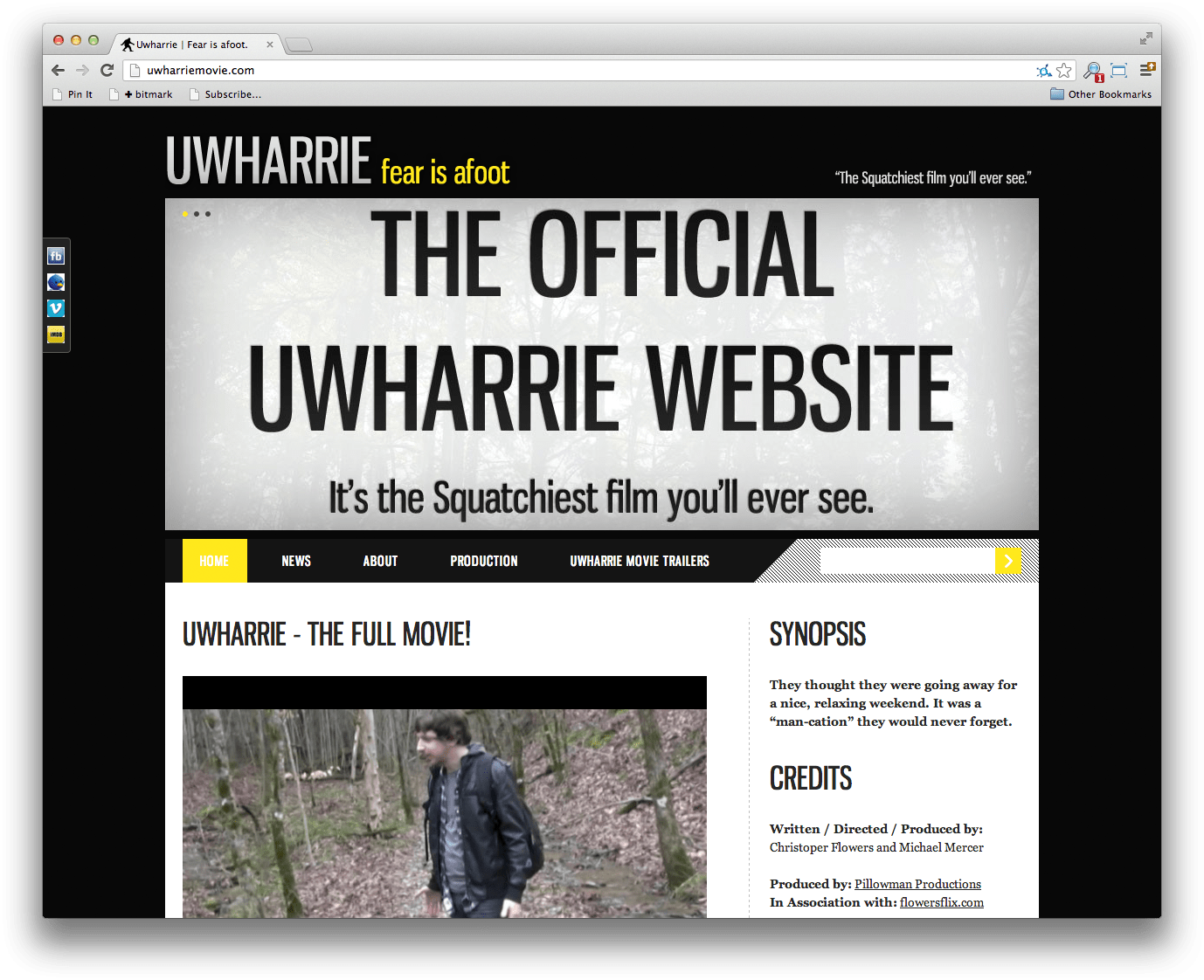 Uwharrie Movie