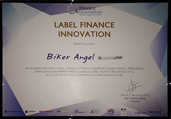 Biker Angel - Label Finance Innovation