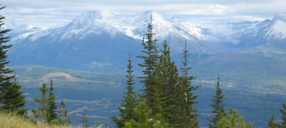view from Thoma Ridge