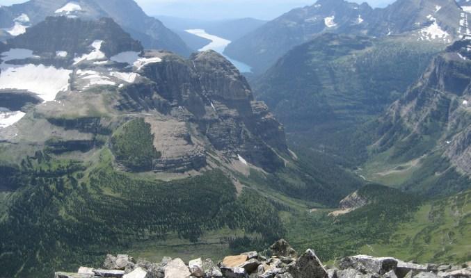Brown Pass and Bowman Lake