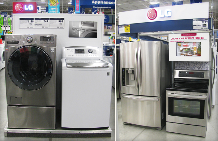 Kitchen Hierarchy Lg Electronics Lowe's Case Study | North Forty - A