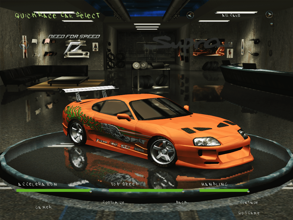 Toyota Supra From The Fast And The Furious Fast And Furious Toyota Supra By Dj Hunter19 Need For Speed