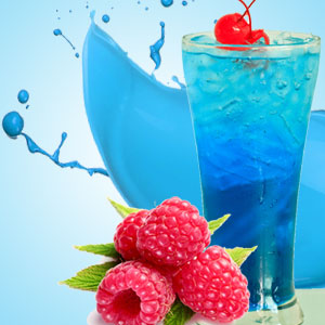 blue raspberry slushie scent
