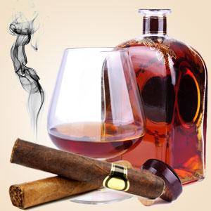 cognac & cubans scent