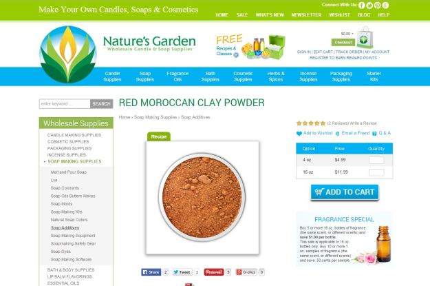 red moroccan clay page