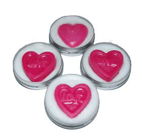 30 Free Lip Balm Recipes: Embedded Heart Lip Balm Recipe