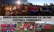 North Geelong Warriors in the community