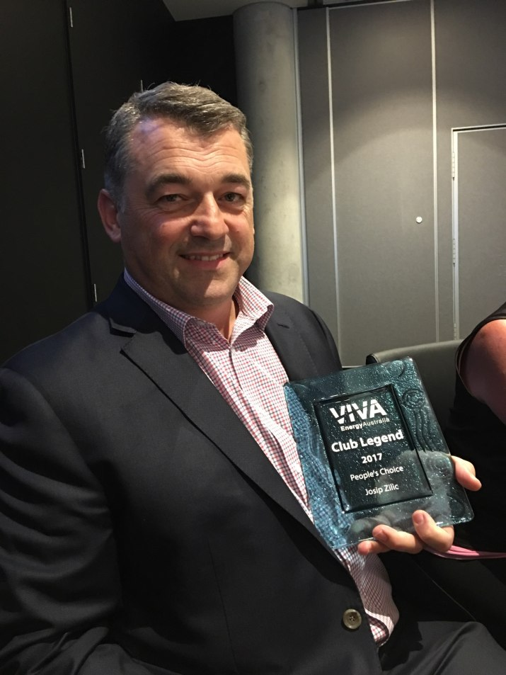 Josip Zilic Viva Club Legend Award