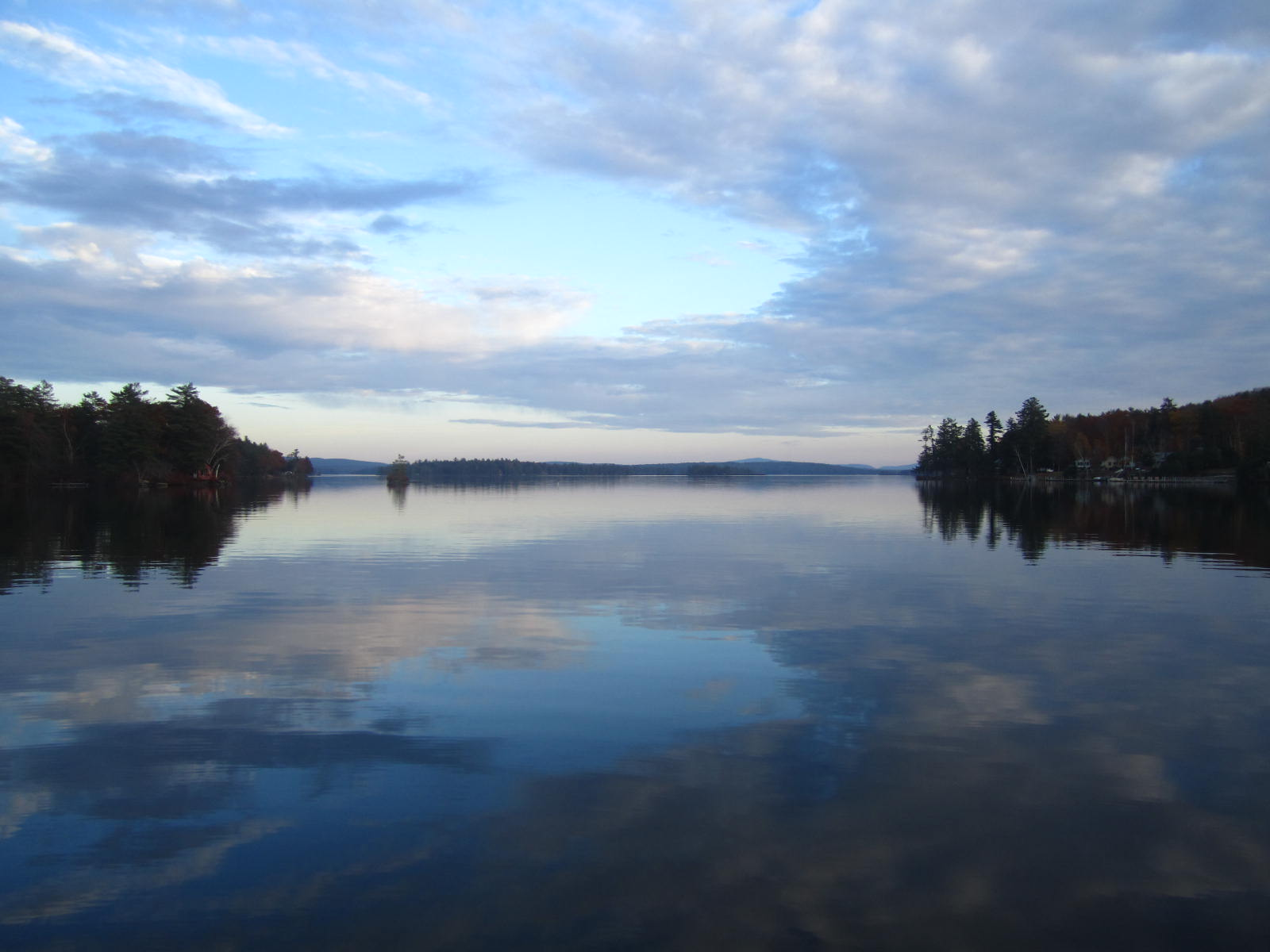 Late Fall Desktop Wallpaper Lakes We Fish 171 Nh Bass Guides