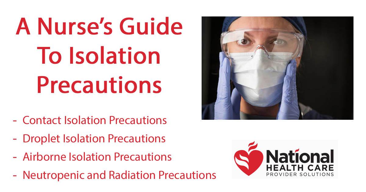 A Nurse\u0027s Guide To Isolation Precautions - isolation precautions