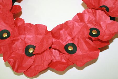 paper poppies Tally\u0027s Treasury