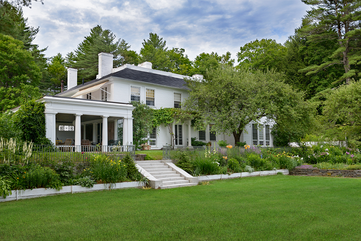The Evolution Of A Notable Landscape New Hampshire Home Magazine