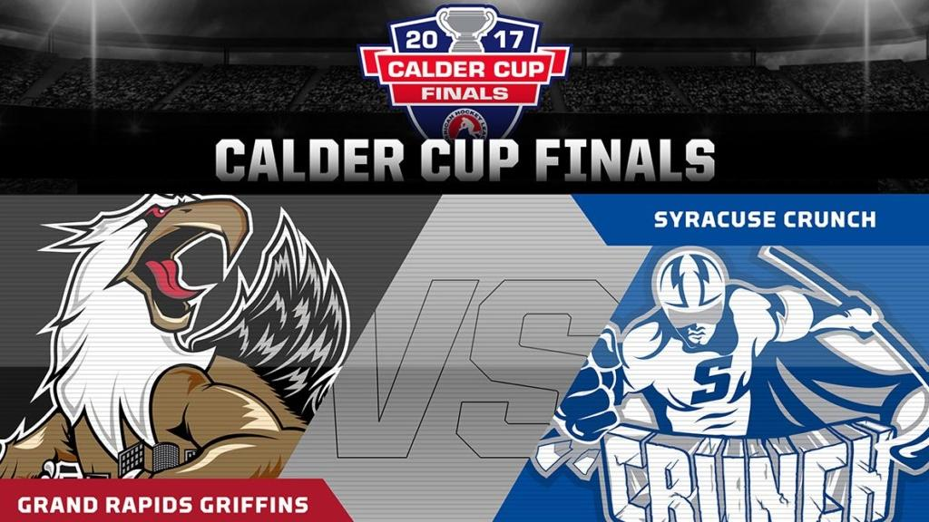 Syracuse to face Grand Rapids Griffins in Calder Cup Finals