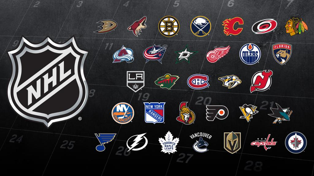 2018-19 NHL schedule released - how to make a league schedule