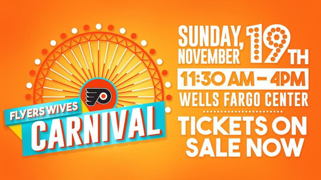 Flyers Wives Carnival set for Sunday, November 19, 2017