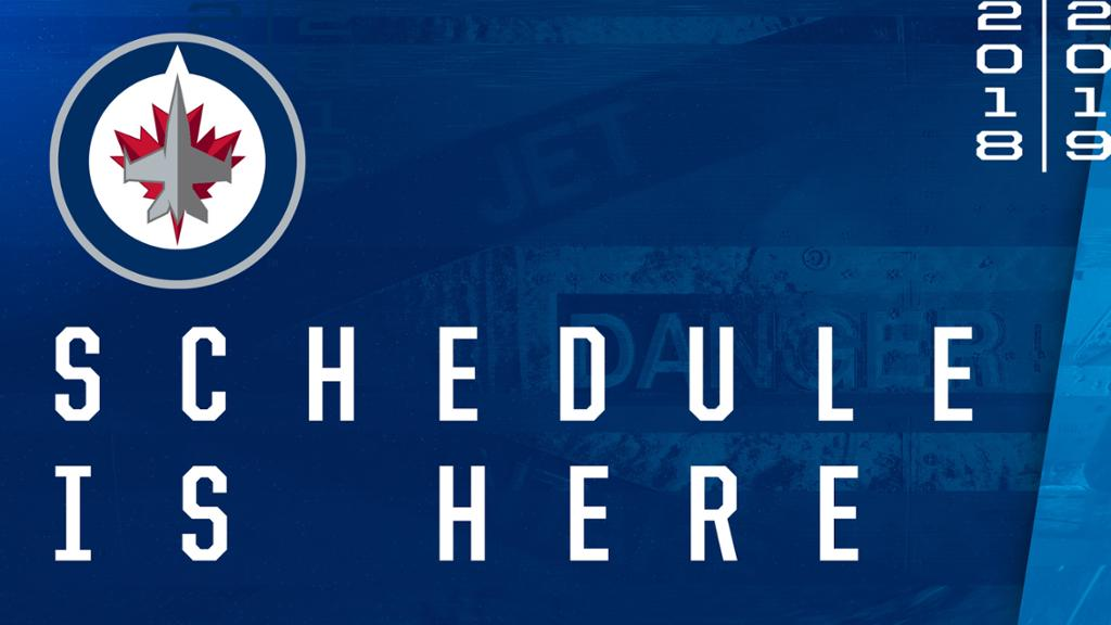 Jets release 2018-19 regular season schedule - how to make a league schedule