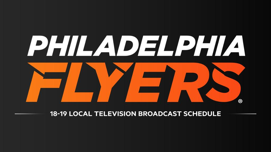 Flyers Announce Local TV Broadcast Schedule