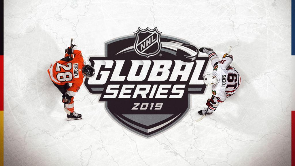 RELEASE Blackhawks to participate in 2019 NHL Global Series