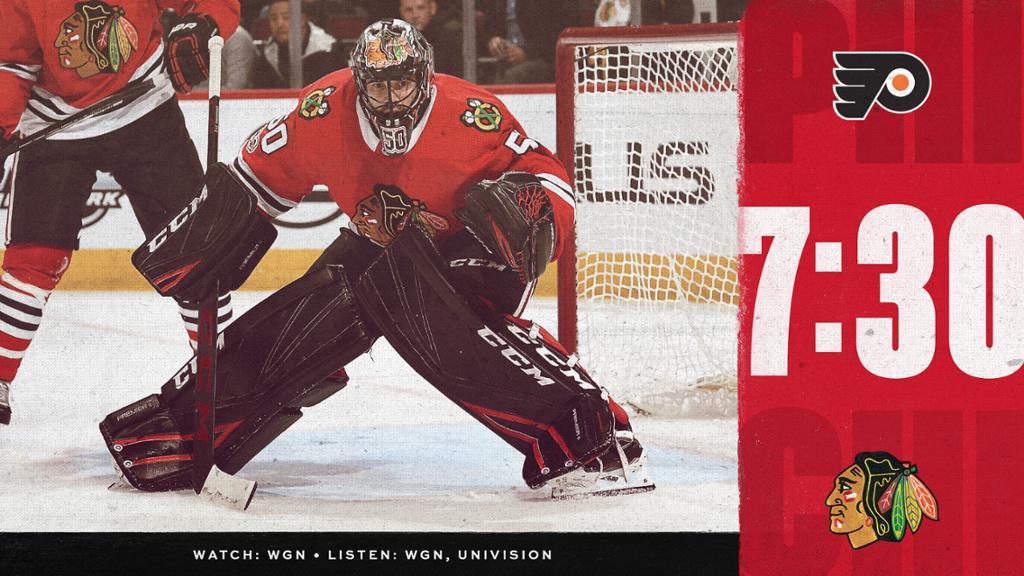 PREVIEW Blackhawks vs Flyers 3/21