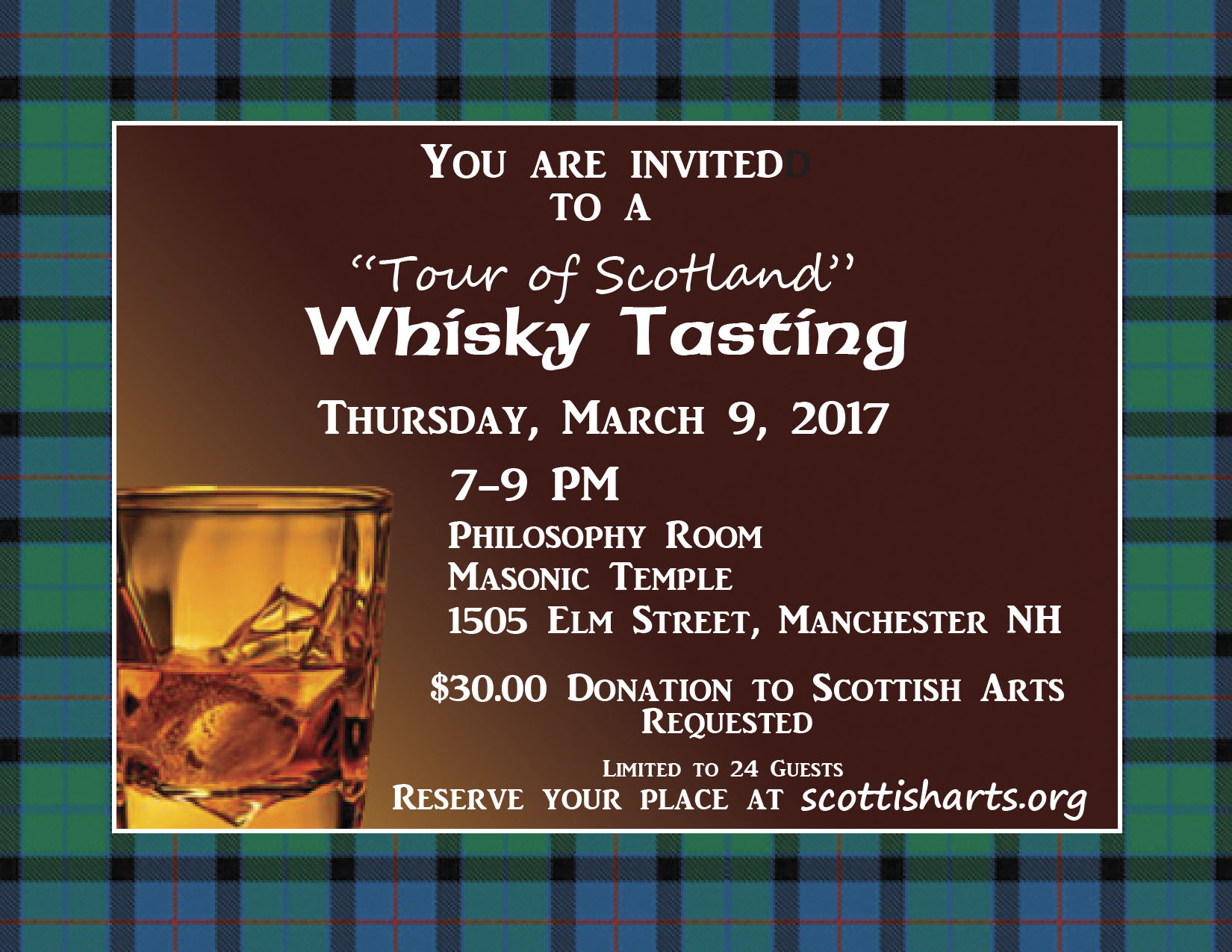 Whiskey Tasting Invitation Ivoiregion