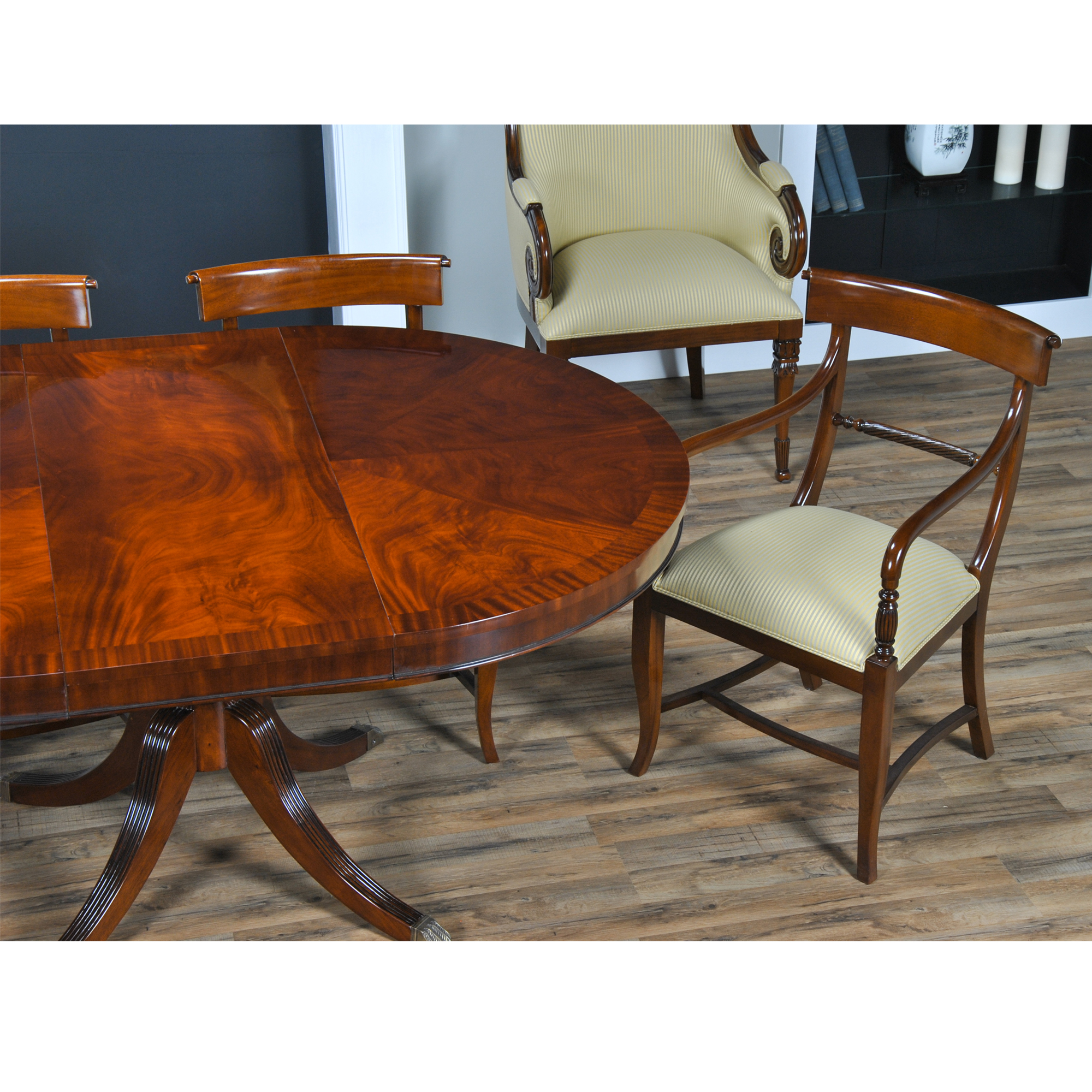48quot Round Dining Table Niagara Furniture Round Mahogany