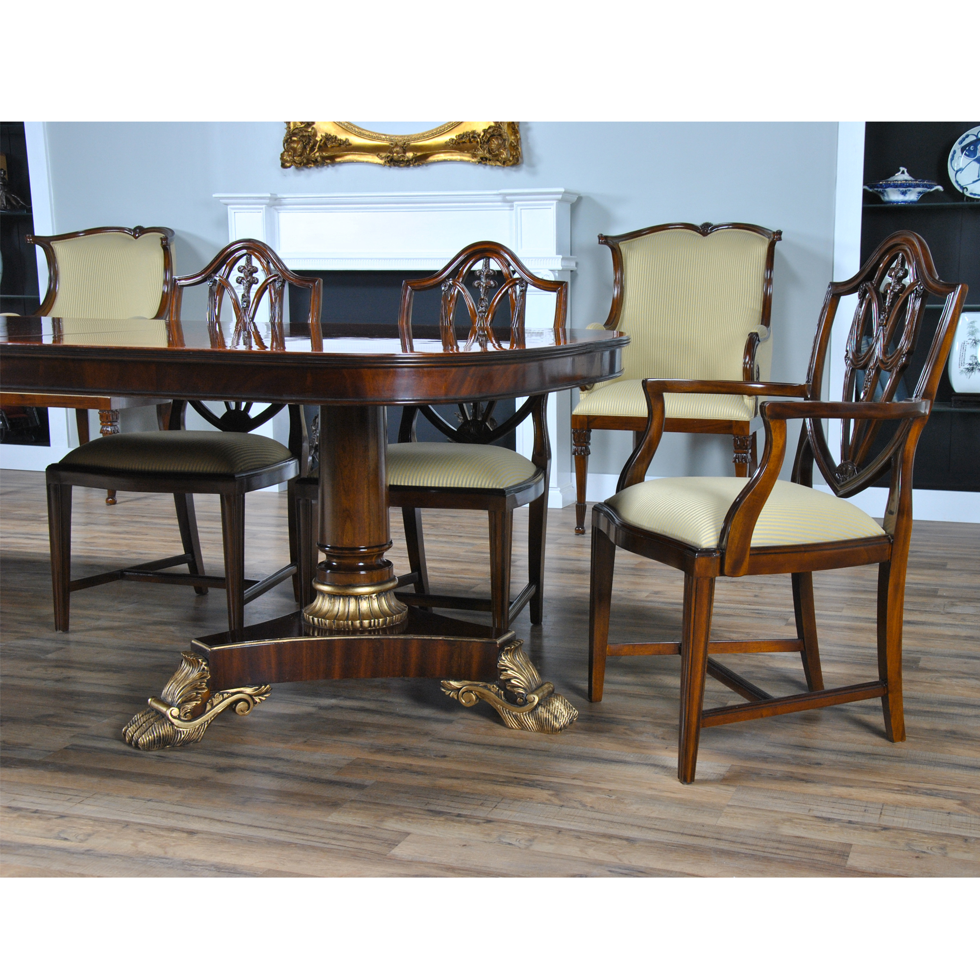 Long Dining Table For Sale Long Regency Mahogany Dining Table Niagara Furniture