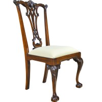 Gothic Mahogany Chippendale Side Chair Niagara Furniture