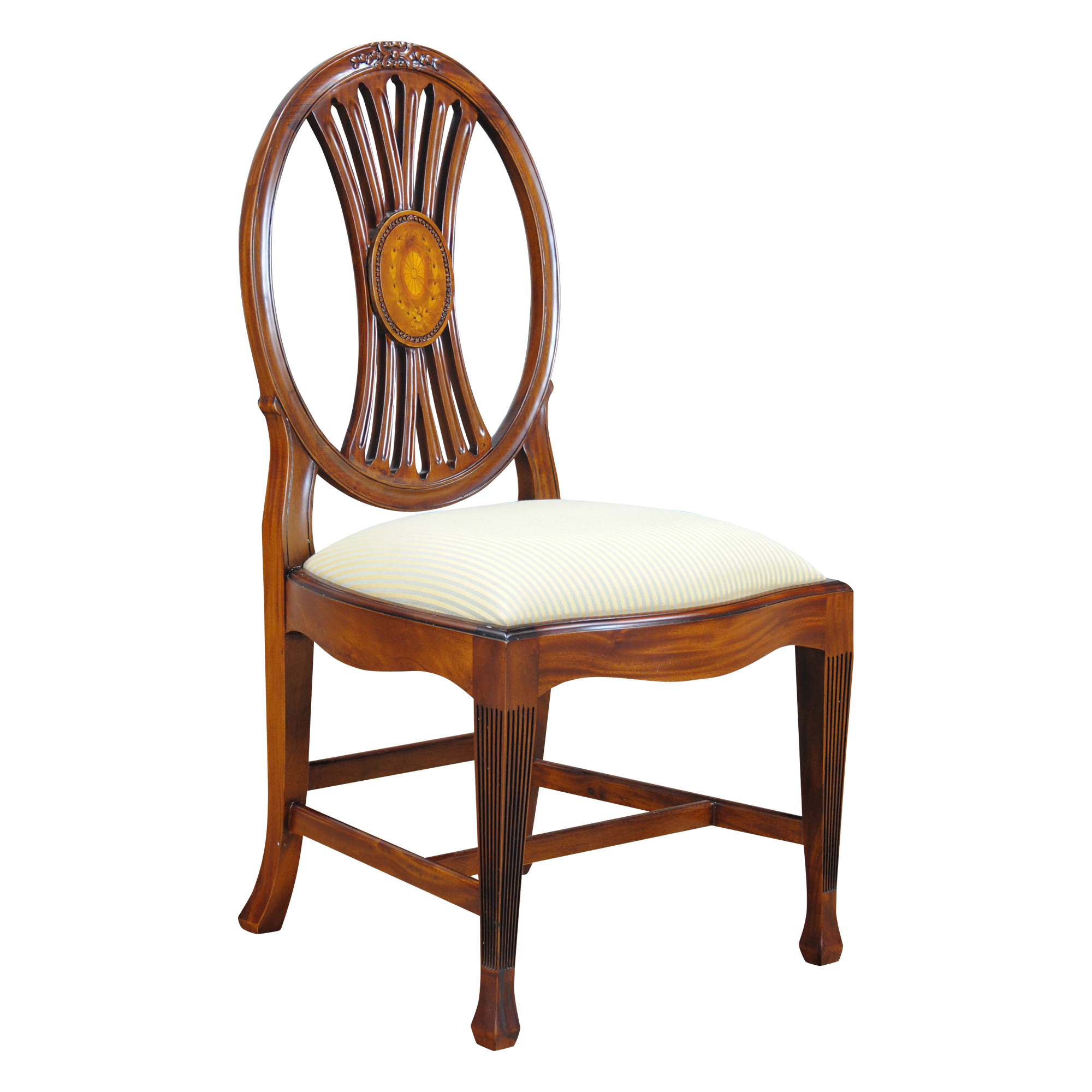 Circle Chairs For Bedrooms Niagara Furniture Round Back Inlaid Side Chair Solid Chair