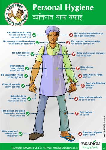 Niamh's Food Tech - Health, Safety and hygiene