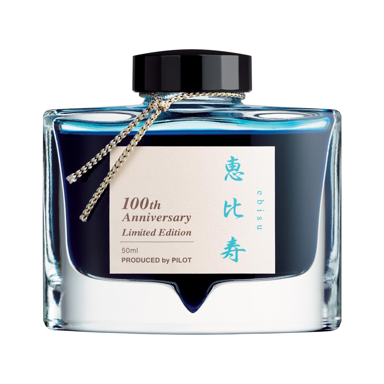 Baby Blue Pen Pilot 100th Anniversary Iroshizuku Fountain Pen Ink Ebisu Light Blue 50ml Bottle