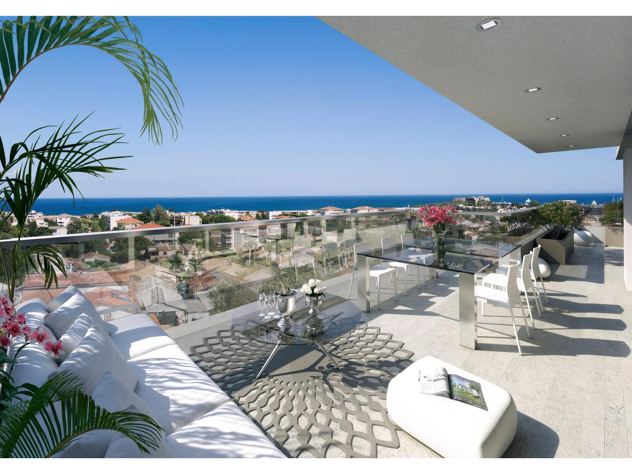 Vente Appartement Antibes Immobilier Nice Vue Mer Appartement Antibes Dernier Etage 4 Pieces