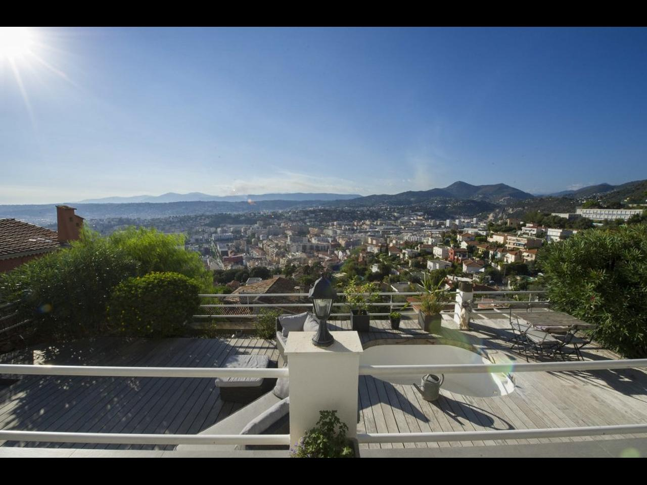 Toit Terrasse Nice Ouest Vente Appartement Nice Immobilier Nice Vue Mer: