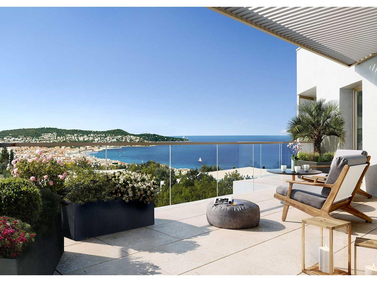 Toit Terrasse Nice Ouest Vente Appartement Nice Immobilier Nice Vue Mer