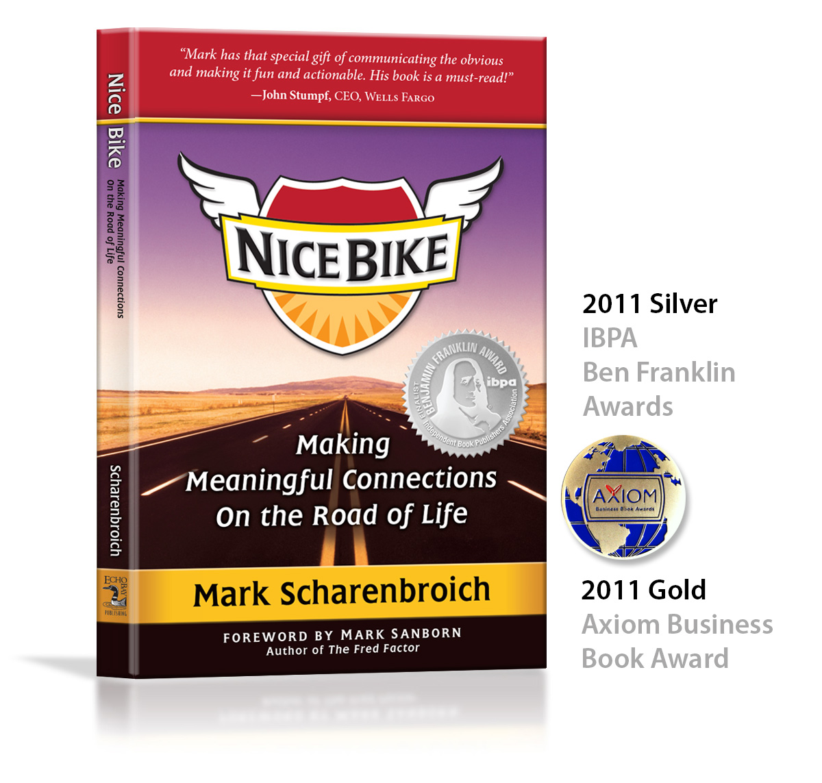 Image Book Keynote Speaker And Author Mark Scharenbroich Nice Bike Book