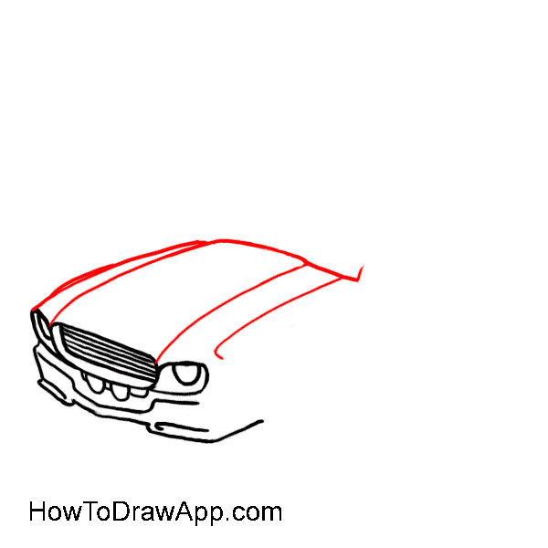 How to draw a car 05