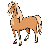 how to draw an easy cartoon horse step by step