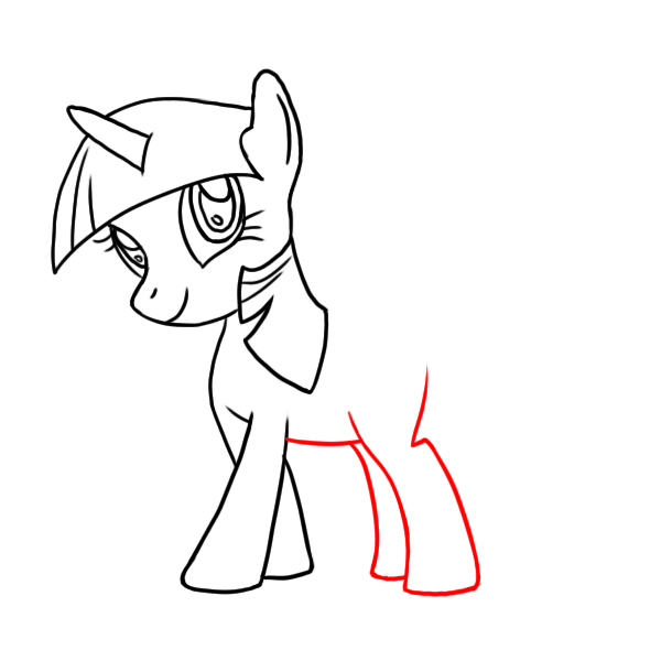 how to draw twilight sparkle alicorn