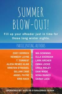 Summer blowout Sale, free books, romance authors