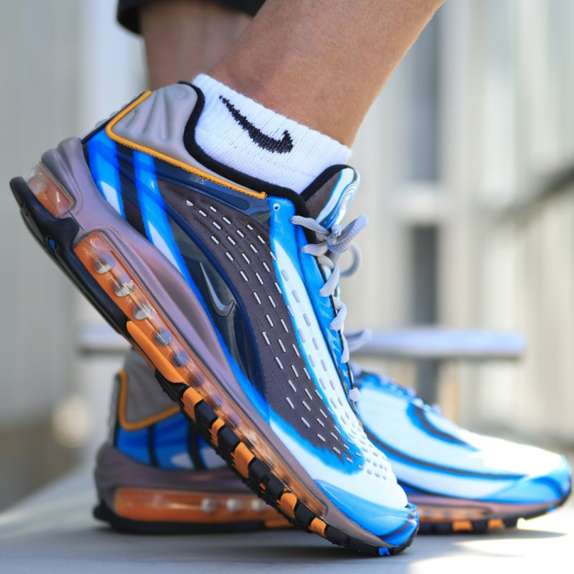 Nike Air Max Deluxe Quot Photo Blue Quot On Foot Look Nice Kicks