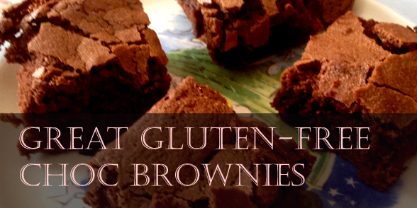 A great gluten and dairy free chocolate brownie recipe