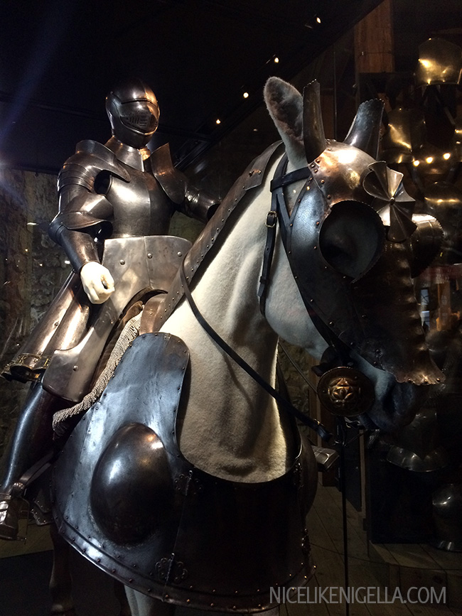 Horses suit of armour