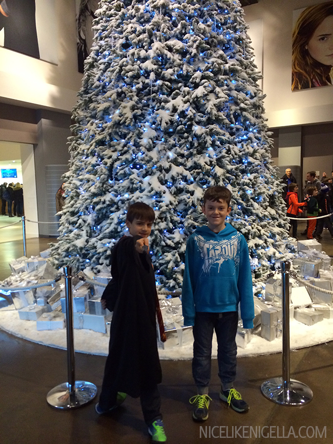 Christmas Harry Potter Studios