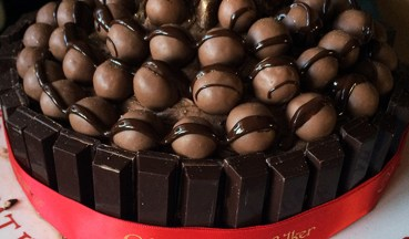 Malteser Chocolate Cake